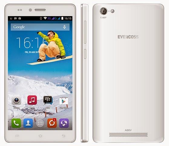 Evercoss A66V Android Murah Layar 5.5 inch Rp 800 Ribuan