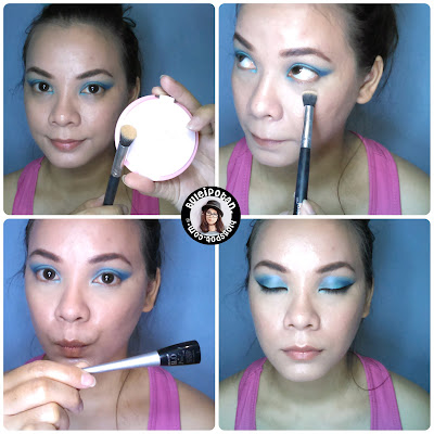 Emina Bare with Me mineral compact #Amber