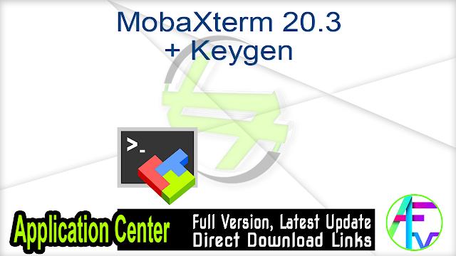 MobaXterm 20.3 + Keygen