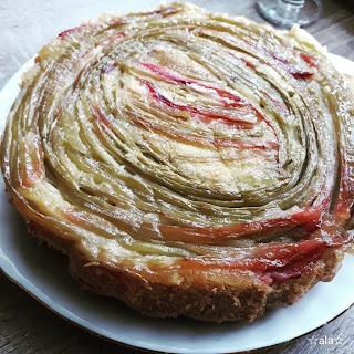 rabarber ciasto ciasto z rabarberem