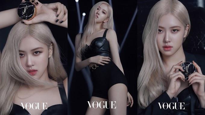 Rosé Blackpink jadi Beauty Ambassador YSL, Creampact di Foto Ini Langsung Viral
