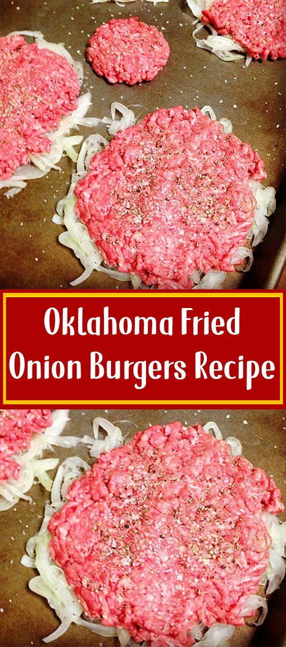 Oklahoma Fried Onion Burgers Recipe