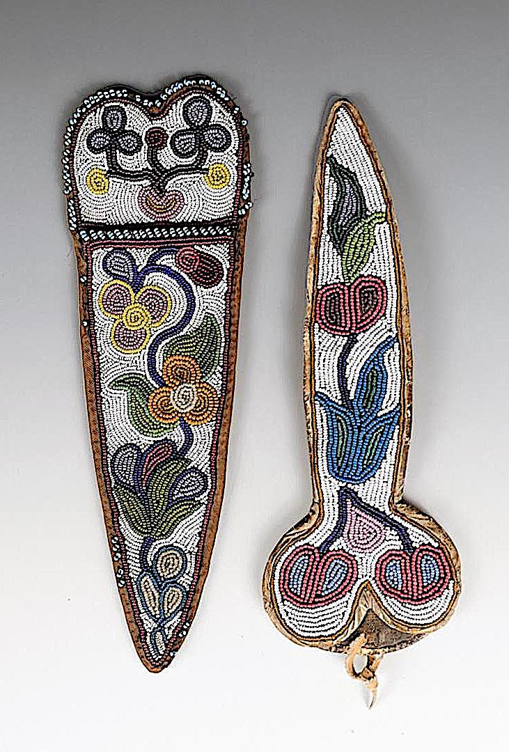 First Nations Chippewa beads, Canada and Northern USA