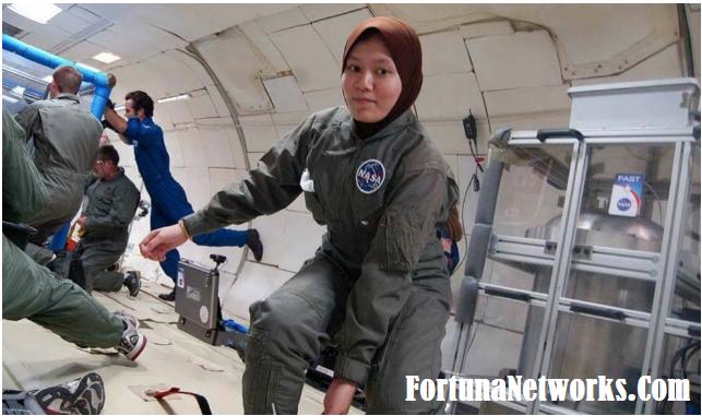 Dr Wan Wardatul Amani Wan Salim,Malaysian Scientist, Who is the 1st Malaysian to Launch a National Aeronautics & Space Administration (NASA) Satellite to Space