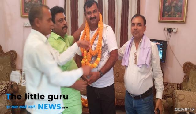 सुनील के युवा राजद उपाध्यक्ष बनाए जाने पर पार्टी कार्यकर्ताओं में हर्ष