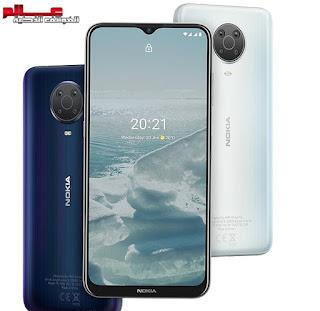 نوكيا Nokia G20 الاصدار: TA-1336, TA-1343, TA-1347 مواصفات وسعر موبايل نوكيا جي20 Nokia G20 - هاتف/جوال/تليفون نوكيا Nokia G20