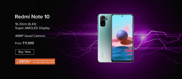 Sale of Redmi Note 10 is live on Amazon and Mi.com - Get up to 1500 cashback by doing this | TechNeg