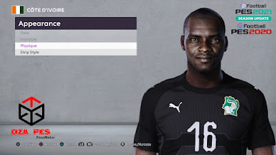 PES 2020 Faces Sylvain Gbohouo by Dzayer Pes