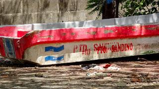 Drug boat Nicaragua