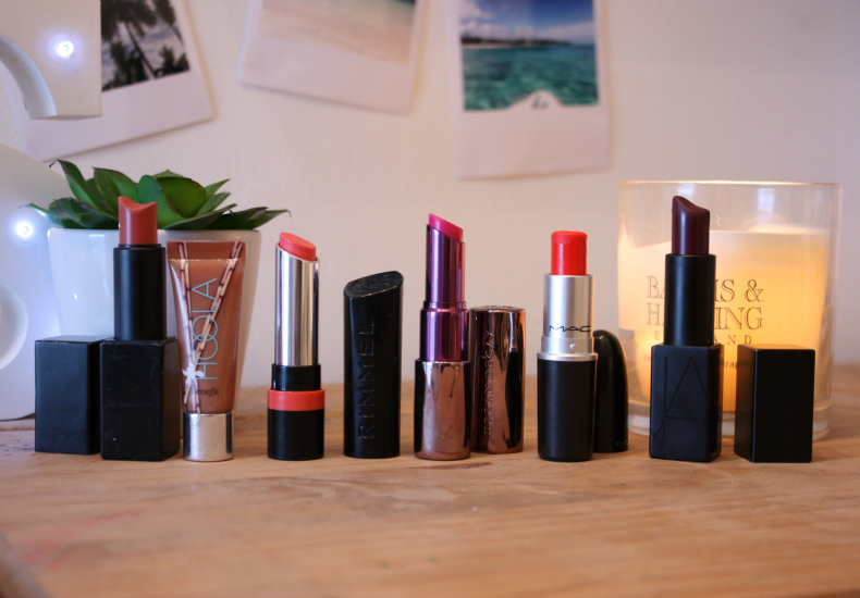 Holiday Make-Up Essentials Lipstick MAC NARS Benefit Urban Decay Rimmel