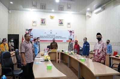 Gubernur Lampung menghadiri Penyaluran Dana Bergulir Untuk Koperasi Dalam Rangka Pemulihan Ekonomi Nasional (PEN) Oleh Presiden RI