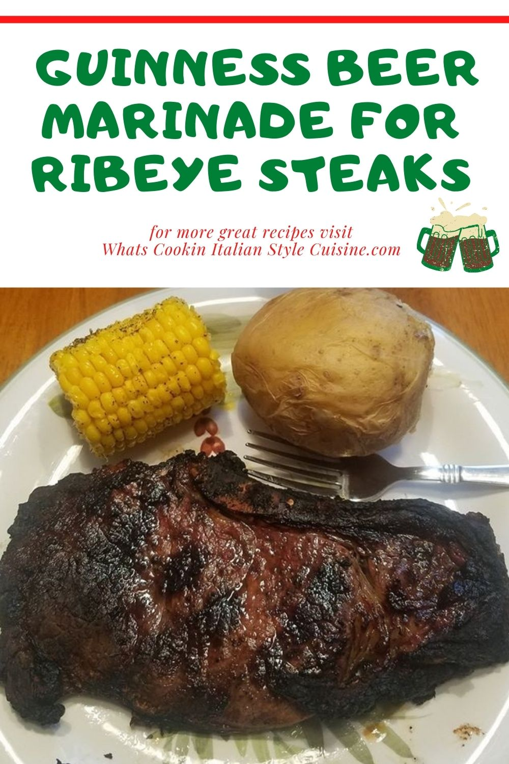 this is a pin for later how to make a marinade for ribeye steaks