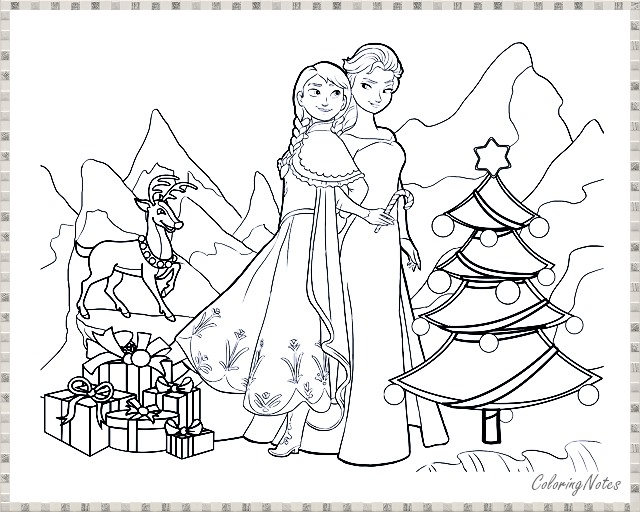Elsa Frozen Disney Coloring Book Pages Our Favorite Guides Elsa ... | 512x640