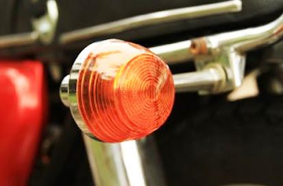 lampu sein motor bunyu