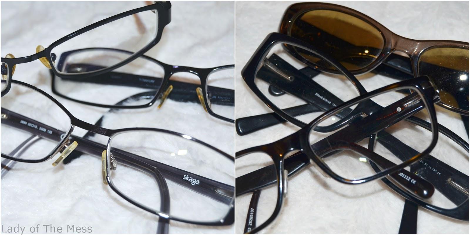 Minun silmieni tähden - ja vähän ulkonäönkin - silmälasit moneen ... acb473094b