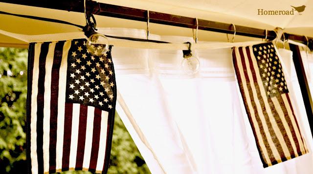 DIY Outdoor Gazebo Curtains