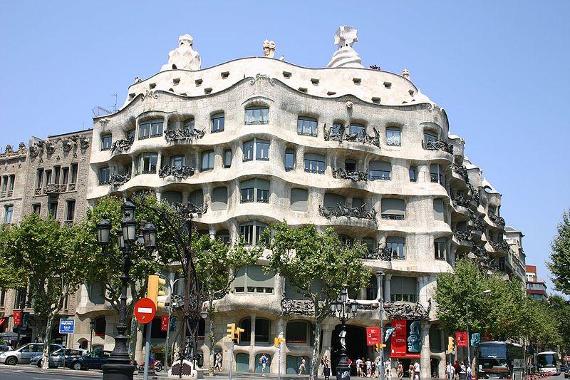 Art Now and Then Antoni Gaudi