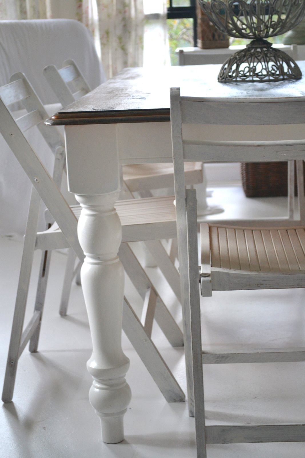 Dining Table 6 8 Seater Paint Me White