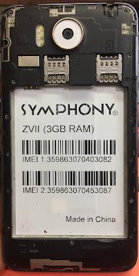 Symphony ZVII Flash File