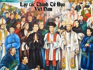 Đại Lễ Tuyên Thánh Tử Đạo Việt Nam