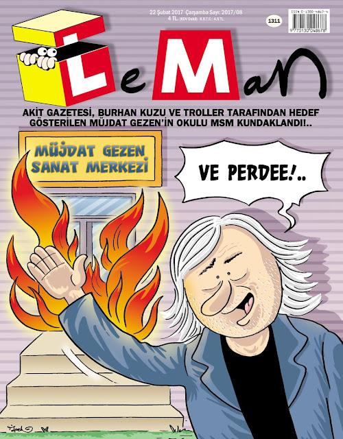 Leman Dergisi | 22 Şubat 2017 Kapak Karikatürü