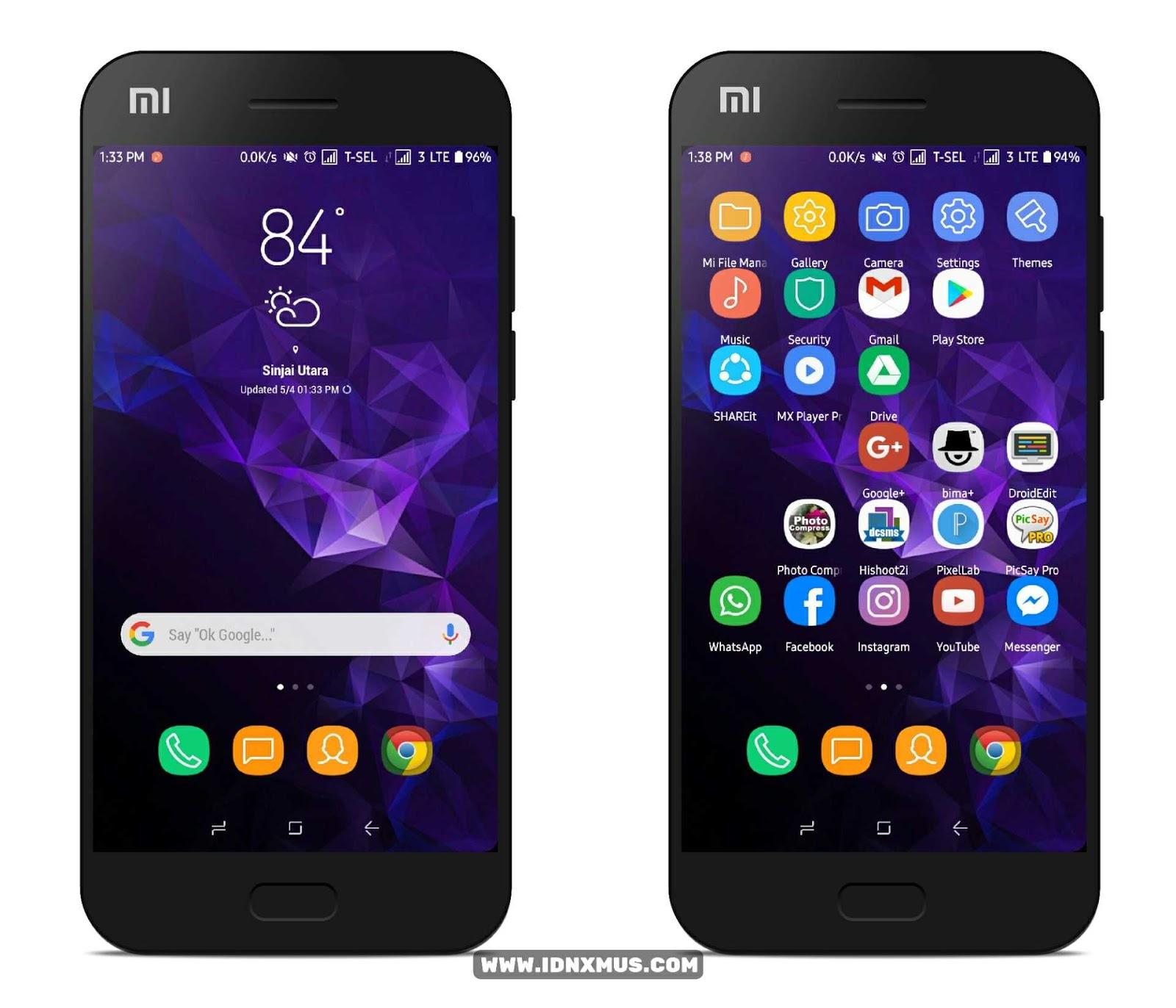 MIUI Theme Samsung S9+