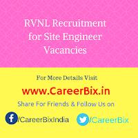 RVNL Recruitment for Site Engineer Vacancies