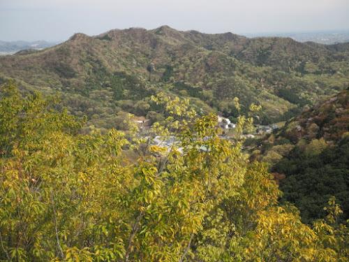 大小山から大坊山(足利市)