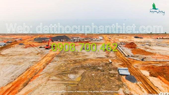 Cập nhật giá và hình ảnh hạ tầng dự án mặt tiền biển Hamubay Phan Thiết 18/11/2020