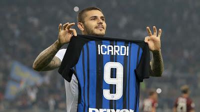 Inter Milan Tenggelamkan Atlanta Lewat 2 Gol Icardi