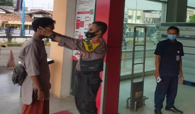 Lawan Covid-19, Polres Serang Kota Gelar KRYD dan Pendisiplinan Prokes di Pusat Perbelanjaan