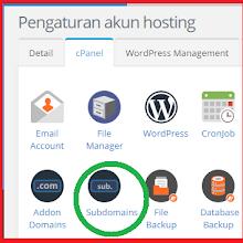 Cara Membuat Website Subdomain di Wordpress Sampai Bisa Online