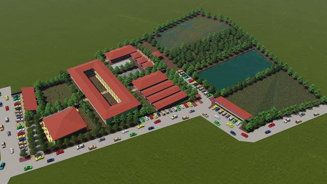 Site Plan Pondok Pesantren
