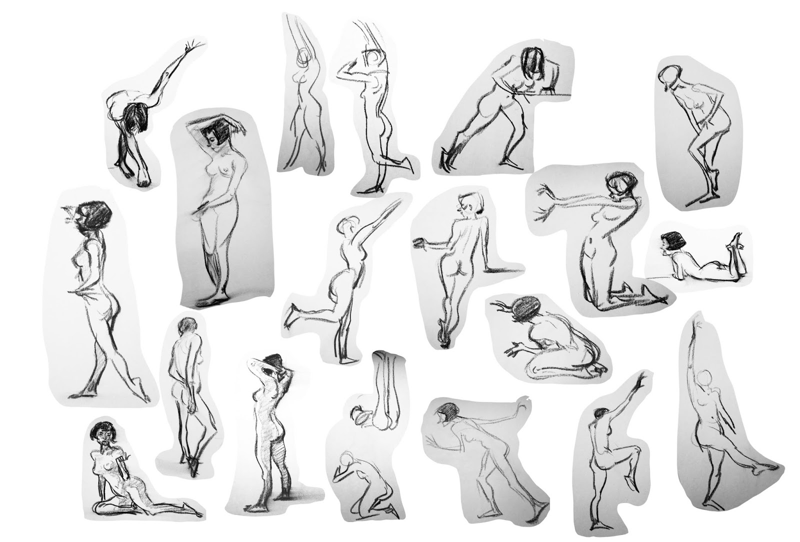 Brittany Myers Art: Calarts Life Drawing