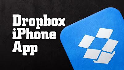تطبيق-Dropbox-للتخزين-السحابي-للآيفون