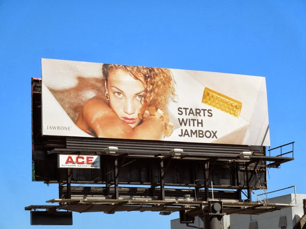 Starts with Jambox bathtub Jawbone billboard