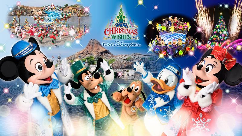 tokyo disneysea 15th anniversary christmas wishes