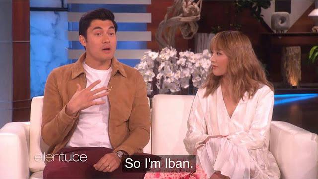 "Siku lelaki ngaku diri bebansa iban ba ""The Ellen Show"""