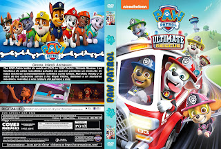 PAW PATROL ULTIMATE RESCUE – 2019 [COVER – DVD]