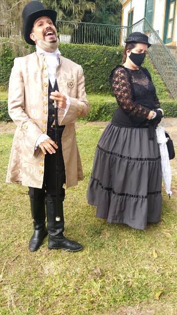 Marcinho e Rosa Helena, Barão e Baronesa de Araris no ProCap Vale do Café