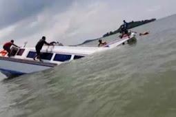Kapal ikan Sibolga tenggelam akibat Tersambar Petir di Nias Selatan, 4 awak masih dalam pencarian.