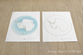 Antarctica Map Activity