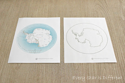 Antarctica Map Activity