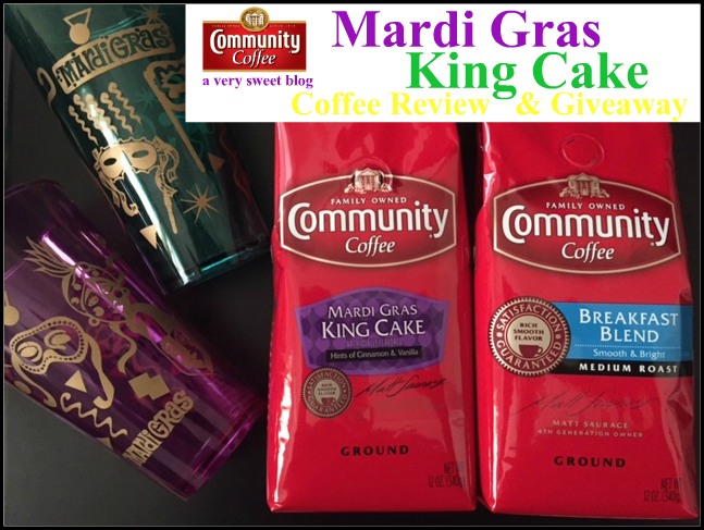 Community Coffee King Cake Review
