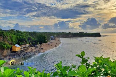 Pantai Balangan Bali, Sunyi Meski Tak Tersembunyi