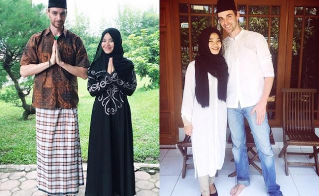 Demi Nikahi Gadis Medan, Bule Tampan Rela Jadi Muallaf. Ini Kisahnya..