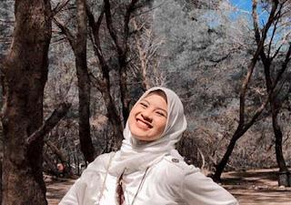 Nabila Maharani Pakai Hijab