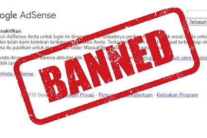 Cara Menghapus Data Diri Pada Akun Adsense Yang Di Banned