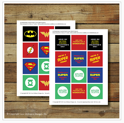 Where to Find FREE Superhero Printables
