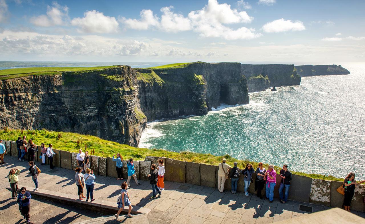Посещение скал Мохера в Ирландии